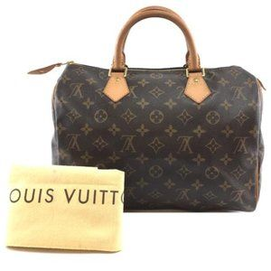 Louis Vuitton Speedy 30 Boston Doctor Satchel